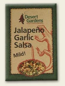 Jalapeno Garlic Salsa