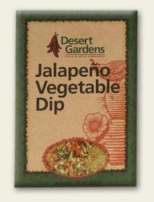 Jalapeno Vegetable Dip Mix