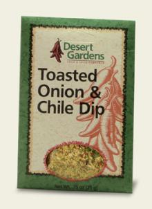 Toasted Onion & Chile Dip