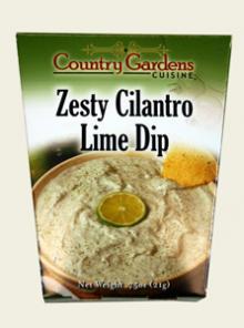 Zesty Cilantro Lime Dip