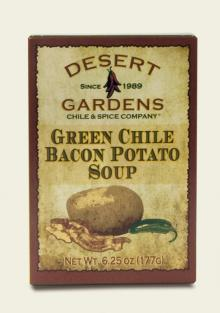 Green Chile Bacon Potato Soup