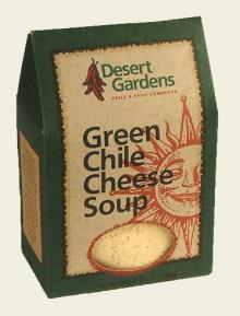 Green Chile Cheese Soup