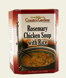 Rosemary Chicken Soup with Rice