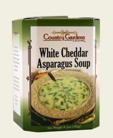 White Cheddar Asparagus Soup