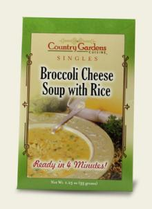 Broccoli Cheese Soup Single (Instant)