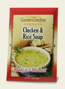 Chicken & Rice Soup Single (Instant)