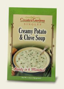 Creamy Potato & Chive Soup Single (Instant)