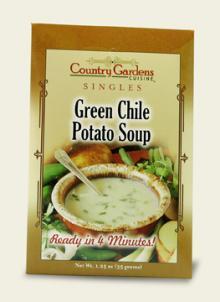 Green Chile Potato Soup Single (Instant)