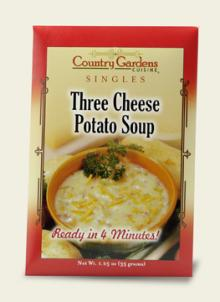 Three Cheese Potato Soup Single (Instant)
