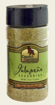 Jalapeno Seasoning - No Salt - 2.5 oz