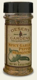 Spicy Garlic Pepper Seasoning - 5.4 oz