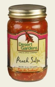 Peach Salsa - 16 oz
