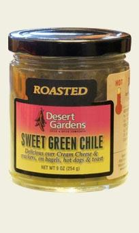 Sweet Green Chile - Hot - 9 oz