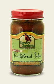 Traditional Salsa - Hot - 16 oz