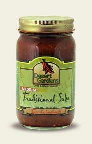 Traditional Salsa - Medium  - 16oz