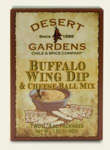 Buffalo Wing Dip & Cheese Ball Mix